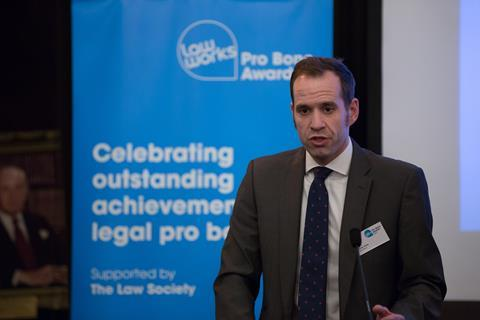James Harper, Executive Sponsor, Rule of Law and CSR for LexisNexis UK & Ireland